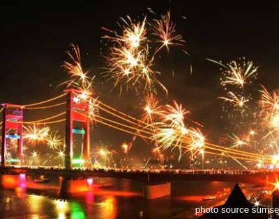 Pesona Wisata Palembang Menjelang Tahun Baru 2019