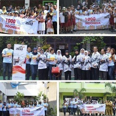 1000 Buku untuk Anak Indonesia oleh Rent Mobil ASSA Rent