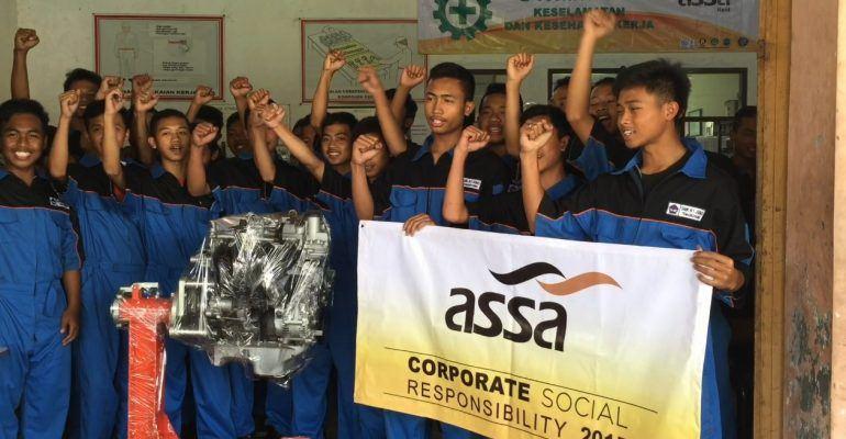 Car Rental Indonesia ASSA Rent Fokus Laksanakan CSR Pendidikan