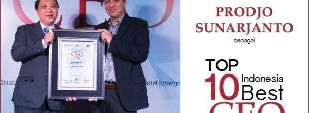Prodjo Sunarjanto: Best CEO versi SWA 2014