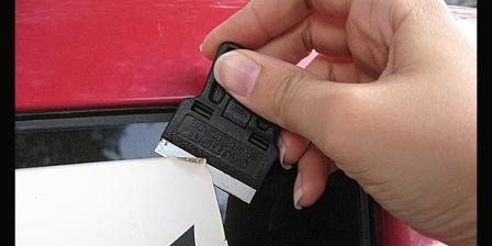 Yuk, Melepas Stiker di Mobil
