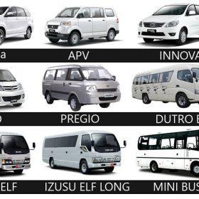 jenis rental mobil di Bandung